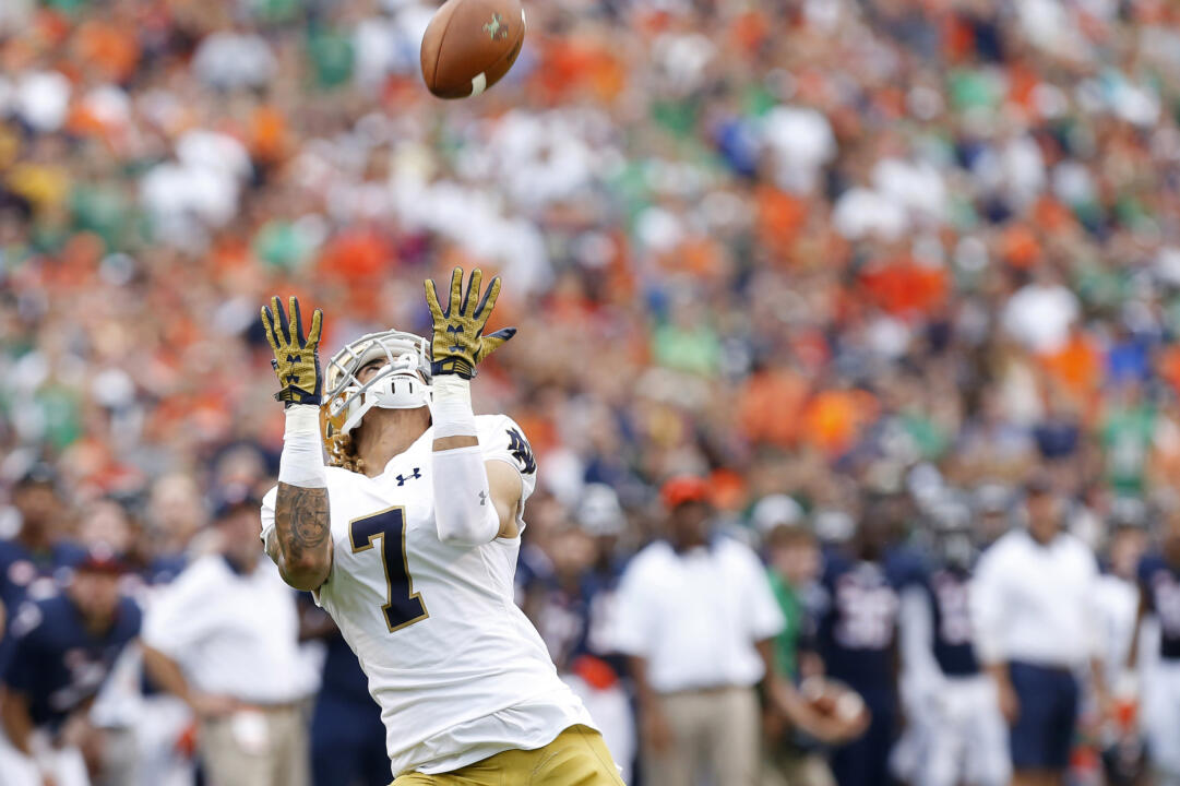 Philadelphia native Will Fuller was named a first-team midseason All-American by ESPN.com and USA Today