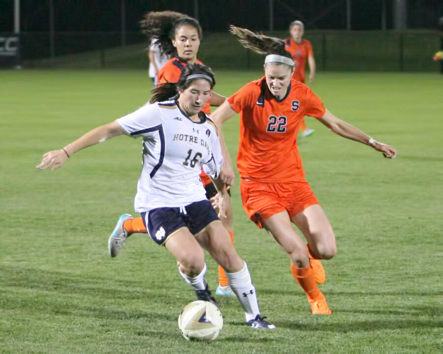 Junior Sandra Yu notched her third goal of the season Thursday against Syracuse.
