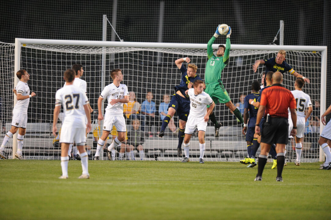 Junior goalkeeper Chris Hubbard made two saves to notch his sixth solo shutout of 2015 in a 0-0 draw at Virginia Tech on Friday night
