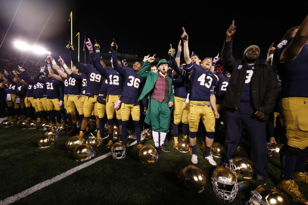 Notre Dame football is taking a few days off this week during the University&amp;acirc;&amp;Acirc;&amp;Acirc;?<sup>TM</sup>s fall break