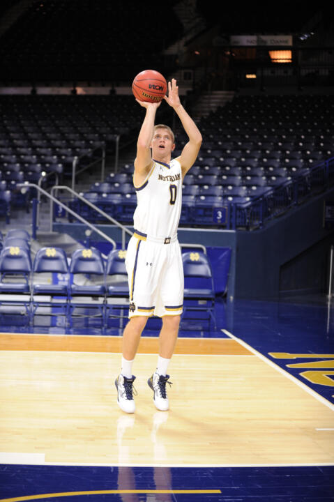 Rex Pflueger is the only California native on the current  Irish roster.