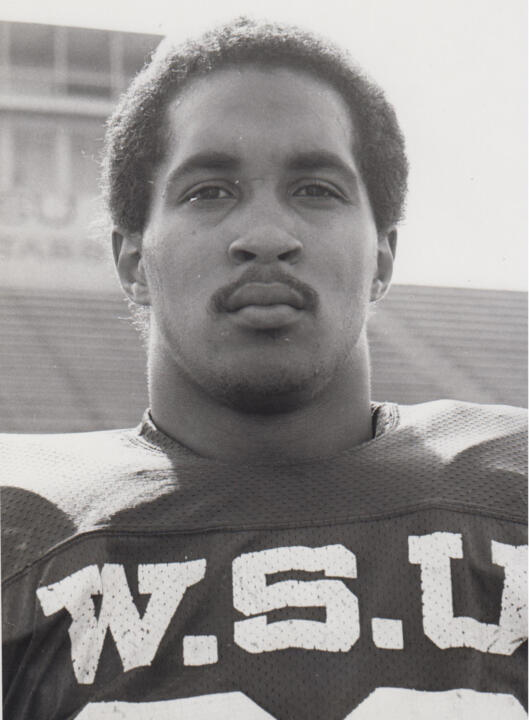 A 1980 graduate of Wayne State, Keith Gilmore coached served as running backs coach and special teams coordinator at his alma mater in 1994.