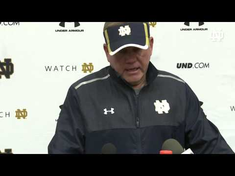 Coach Kelly Media Session - October 1,2015
