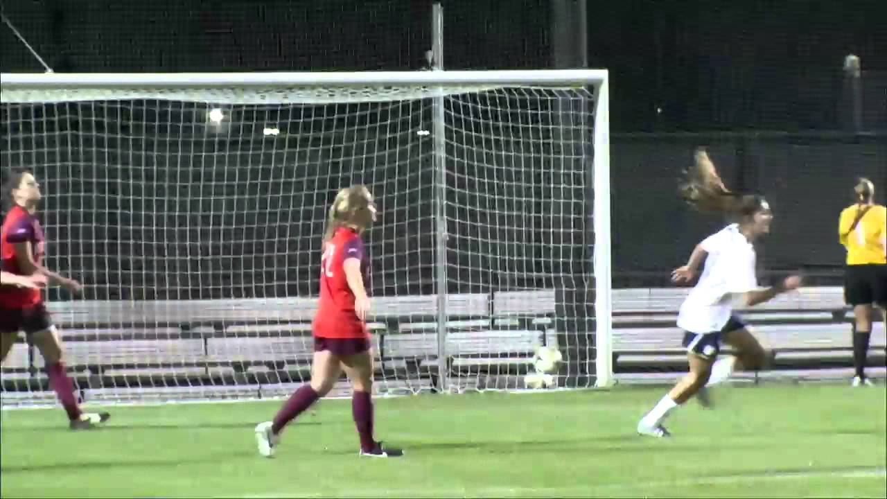Notre Dame vs Virginia Tech Women's Soccer Highlights