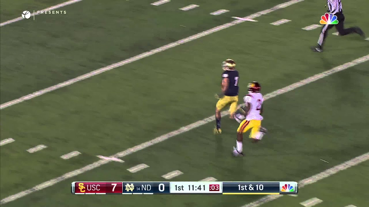 Quick Plays: Fuller 75-Yard TD (7-7)