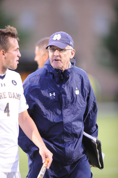 Notre Dame head coach Bobby Clark has guided the Irish to 14 NCAA Championship appearances in the last 15 seasons, earning a top 16 national seed on 10 occasions
