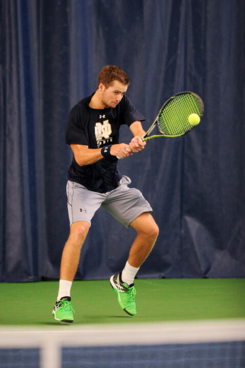 Senior Quentin Monaghan will compete in both single and doubles at the USTA/ITA National Indoor Intercollegiate Championships this weekend.
