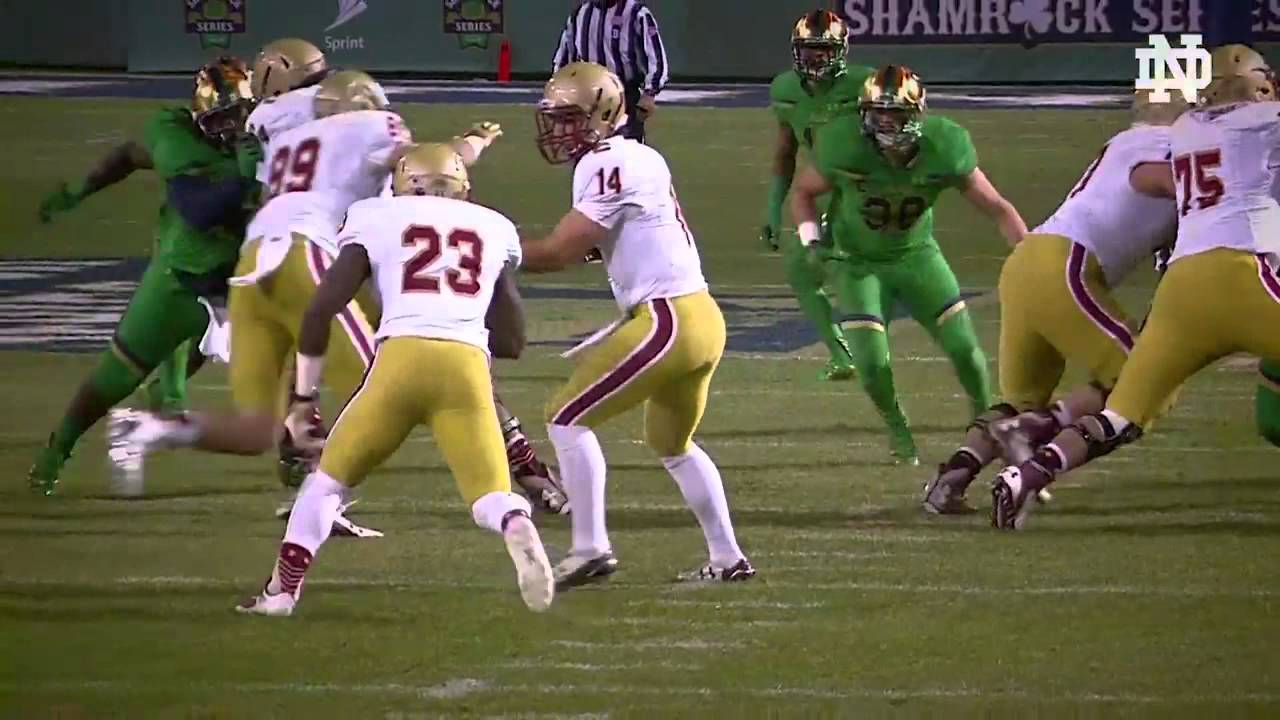 Brian Kelly Break Down: Boston College