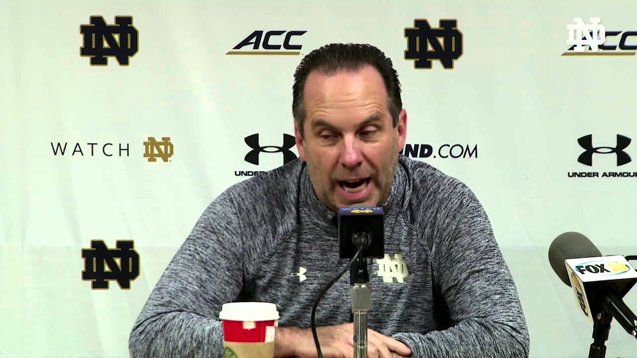 MBB Coach Brey Press Conference