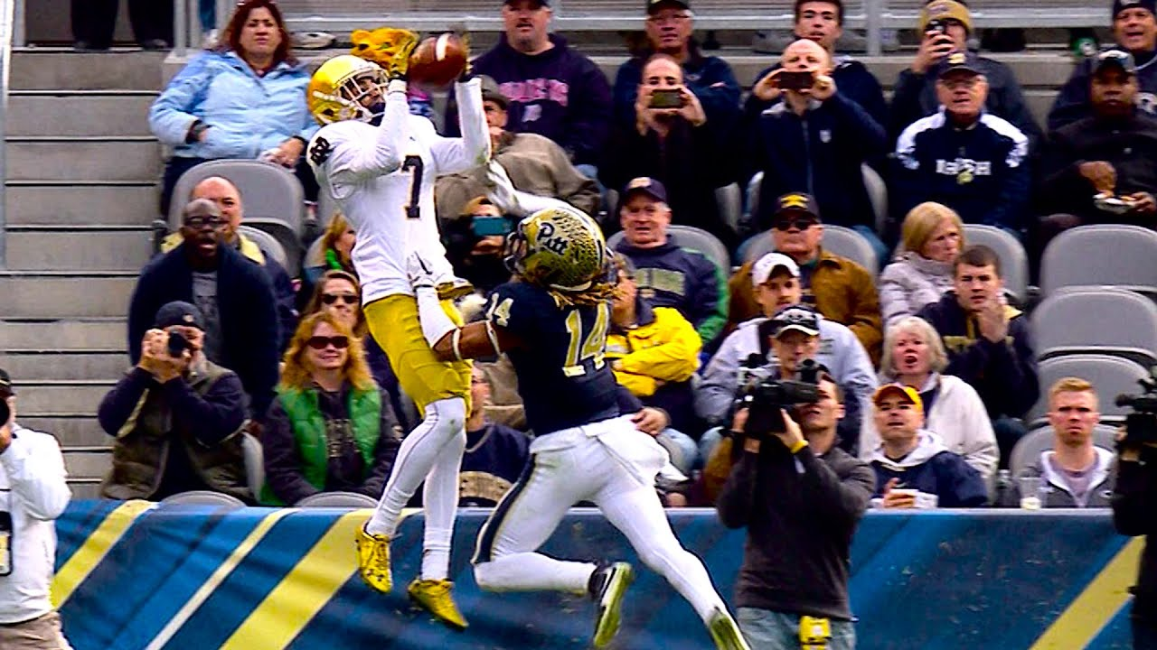 Notre Dame vs. Pittsburgh Football Highlights