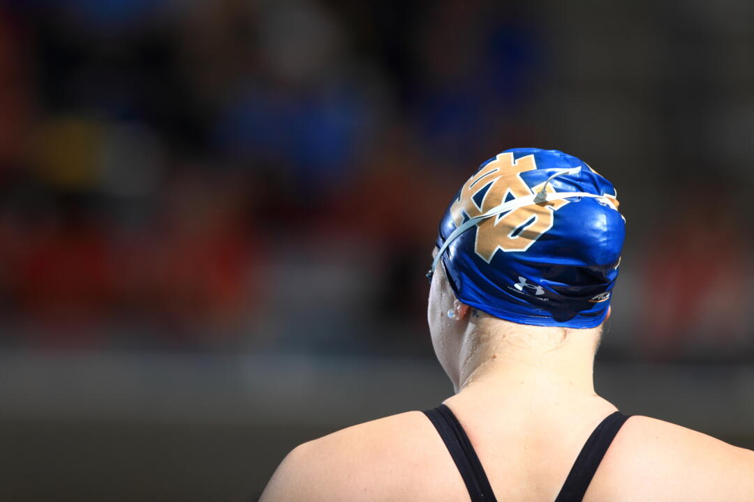 Notre Dame women's swimming has signed eight freshmen to next year's class.