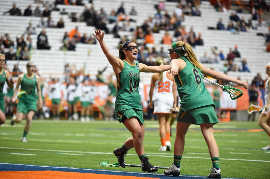 The Irish play 11 ranked teams this spring, including No. 3 Syracuse - a team the Irish beat last year at the Carrier Dome.