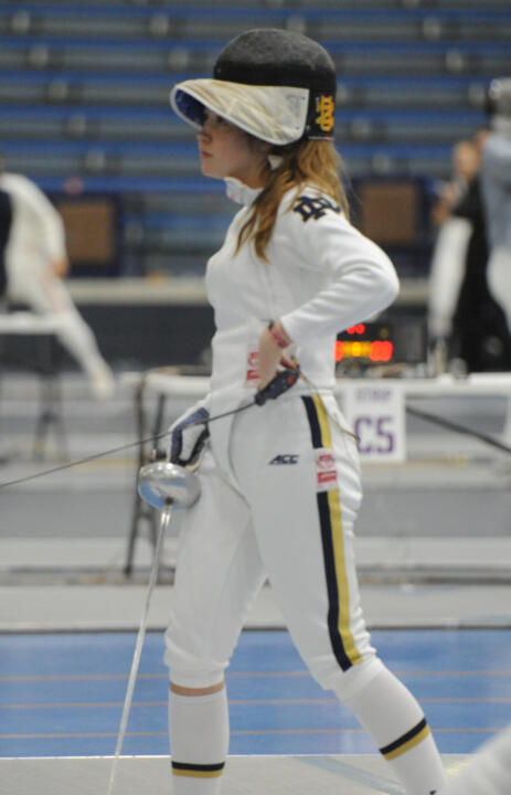 Molly Hudson competed in several bouts for the Irish Sunday.