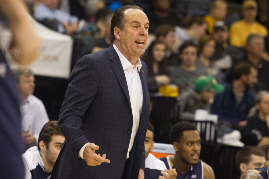 Irish head coach Mike Brey won his 450th career game at Wake Forest on Wednesday.