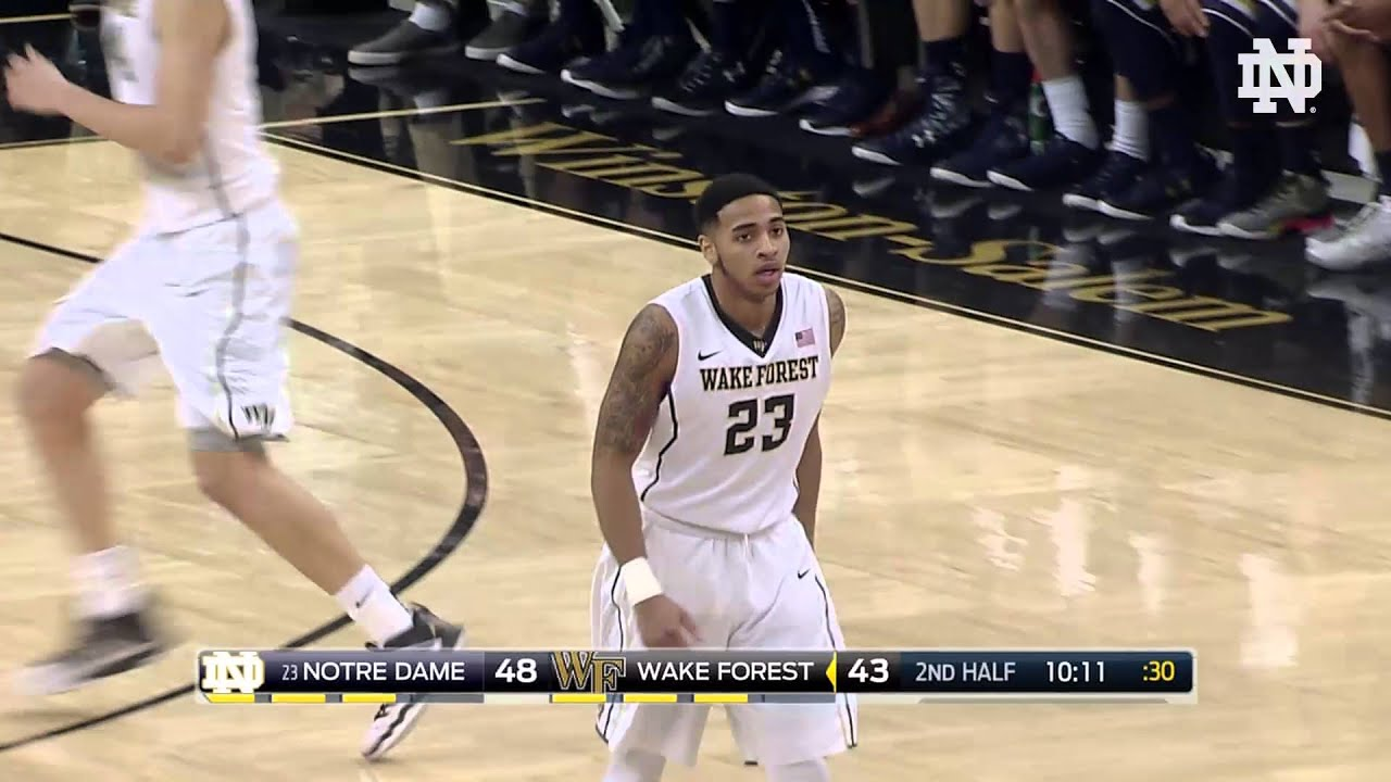 MBB vs. Wake Forest Highlights