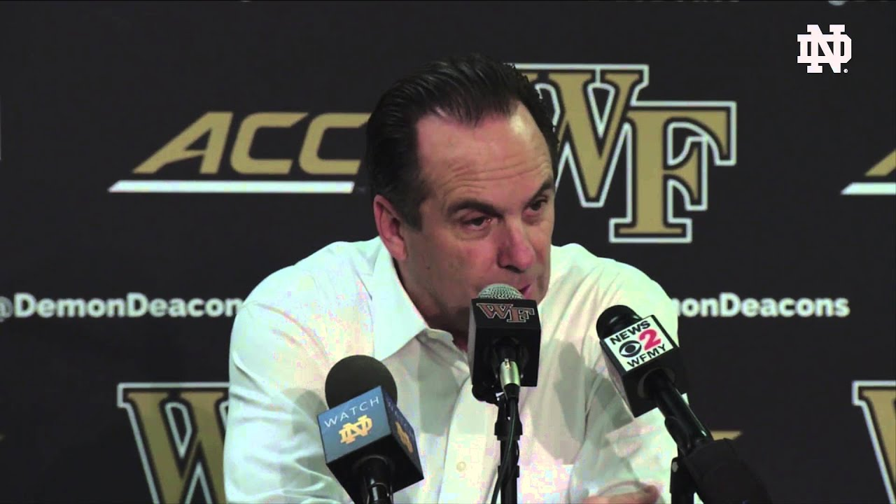 MBB vs. Wake Forest Post Game Presser