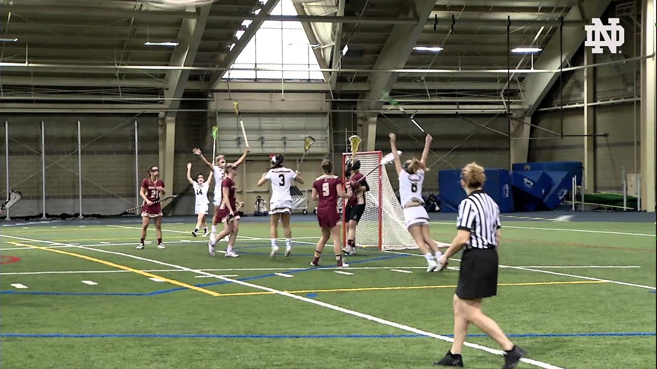 Notre Dame vs. Boston College Women's Lacrosse Highlights