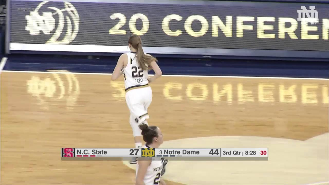WBB NC State Highlights