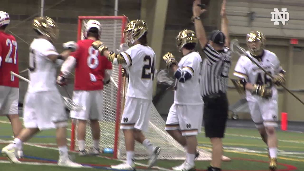 Notre Dame vs. Detroit Men's Lacrosse Highlights