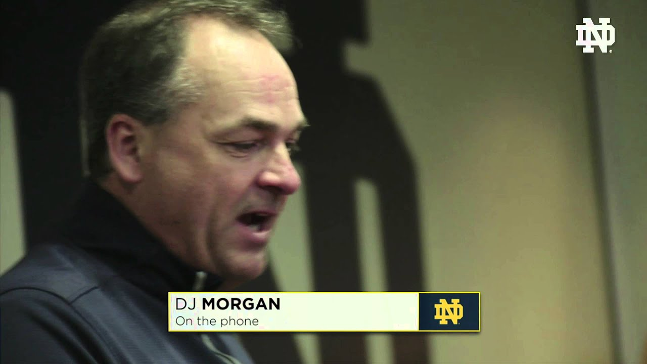 The Phone Call - D. J. Morgan - 2016 Notre Dame Signing Day
