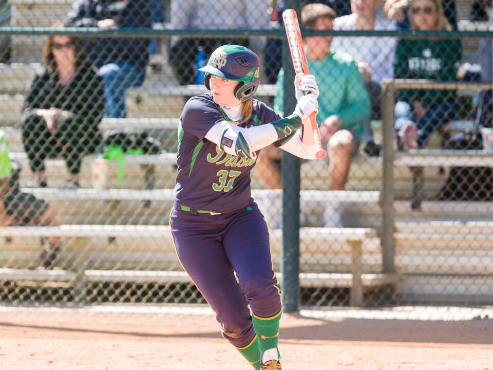 Freshman Ali Wester finished with two hits and a stolen base on Friday against Syracuse