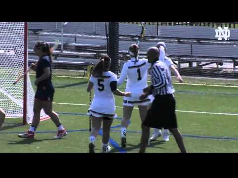 Notre Dame vs. Syracuse Women's Lacrosse Highlights