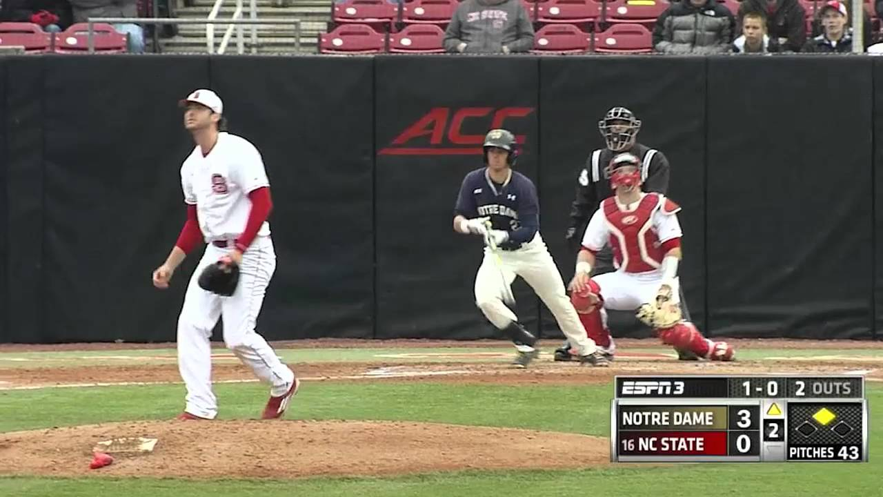 Notre Dame vs. NC State Baseball Highlights