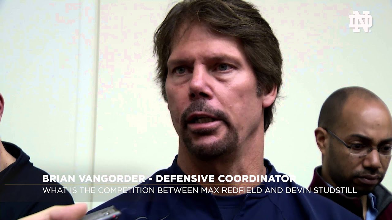FB Defensive Coaches Media Availability March 30, 2016