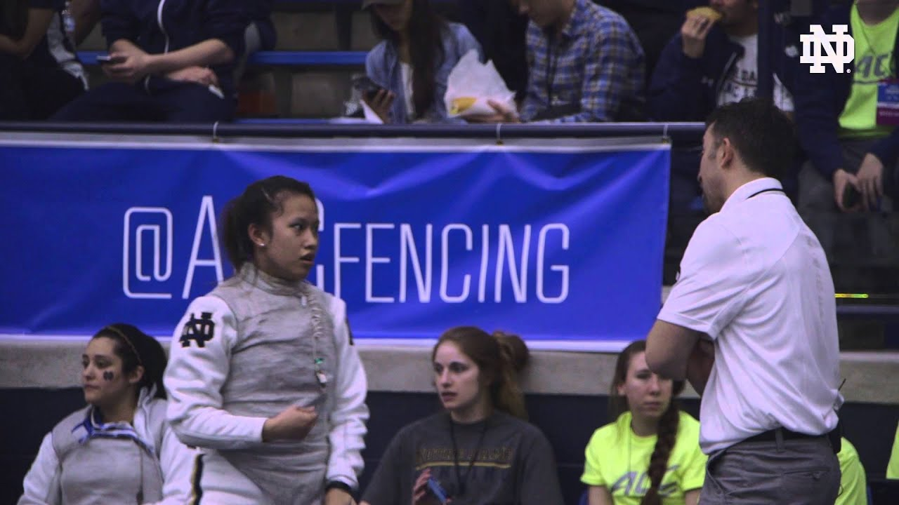 IRISH ACCESS: Fencing ACC Championships