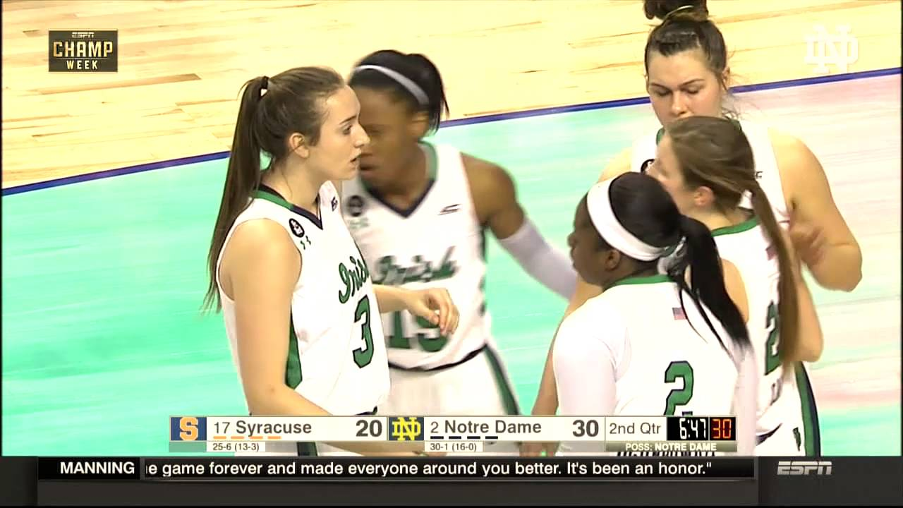 WBB vs Syracuse ACC Championship Finals Highlights
