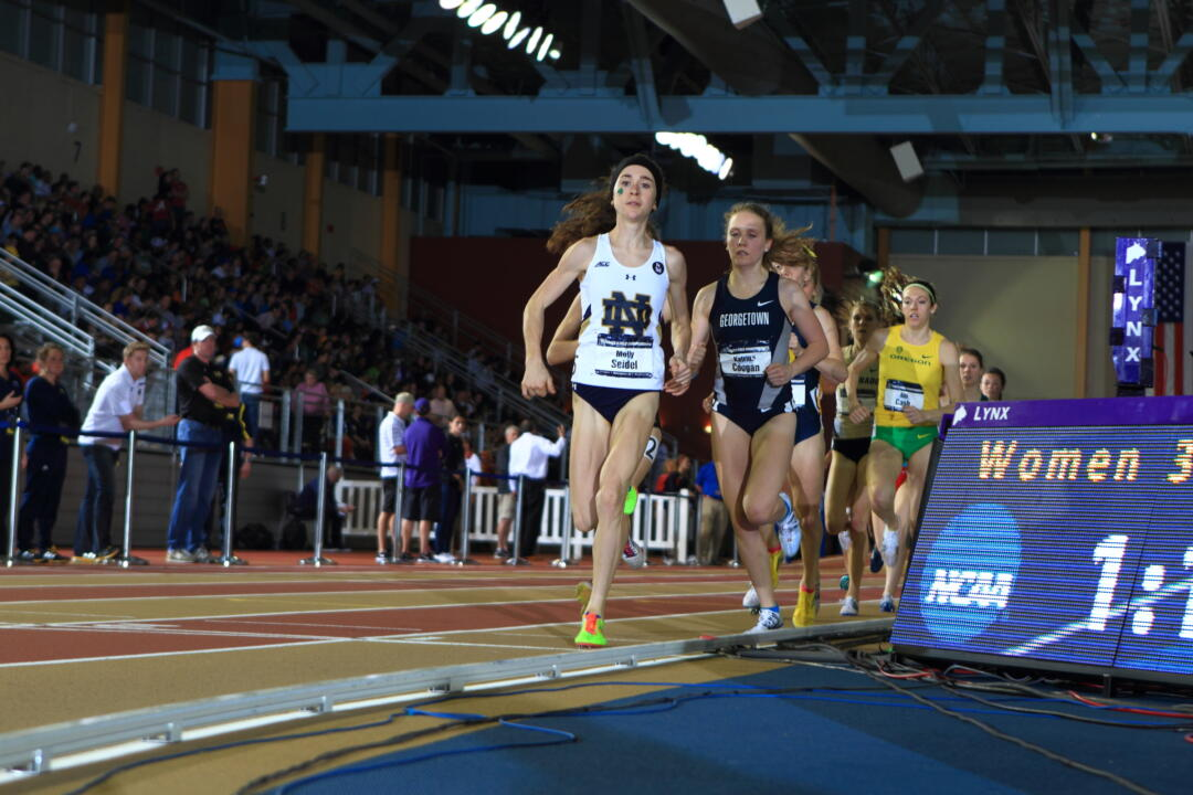 Senior track & field star Molly Seidel earned her second ACC Scholar-Athlete of the Year award on Wednesday.