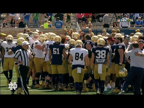 FB Blue-Gold Game Highlights