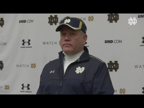 FB Brian Kelly Media Availability April 15, 2016