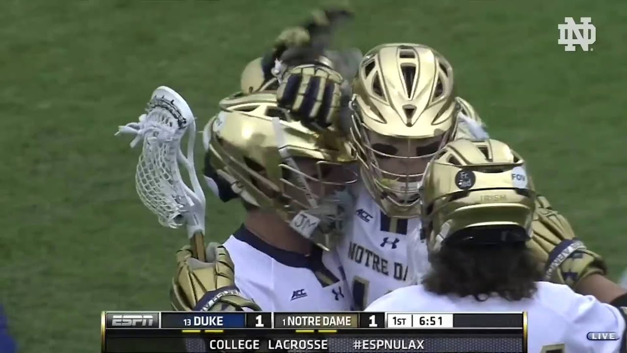 Notre Dame vs. Duke Men's Lacrosse Highlights