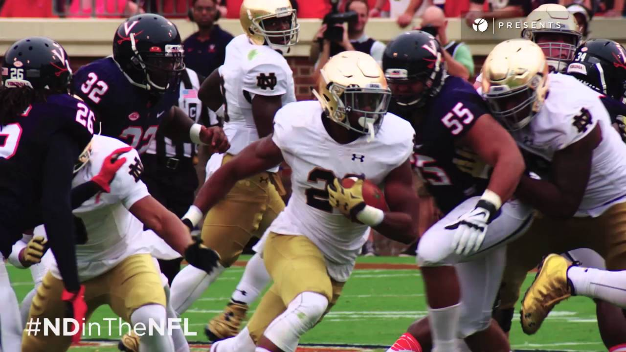 #NDinTheNFL | CJ Prosise Highlights