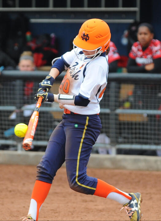 Morgan Reed was 3-for-3 with two home runs and three runs scored in Sunday's game one win over Louisville