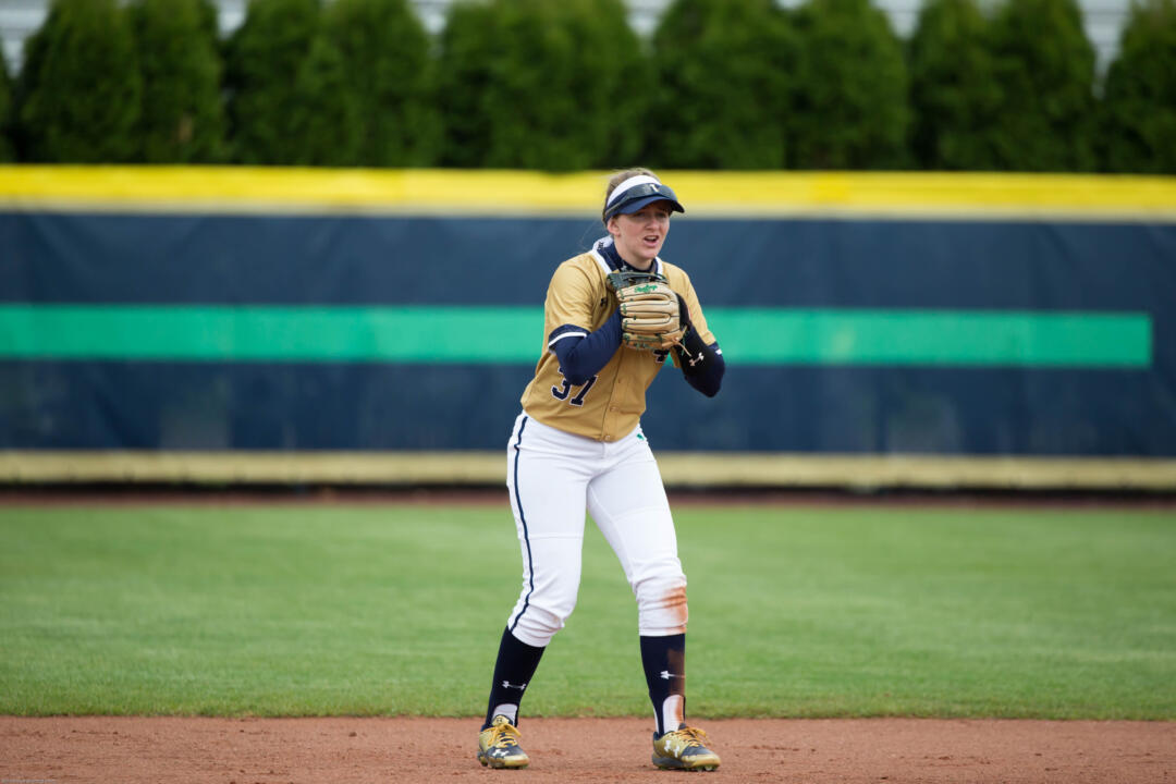 Ali Wester became the second Notre Dame player, and member of her own family, to be named a top 10 finalist for Schutt Sports/NFCA Division I National Freshman of the Year in the award's three-year history on Thursday