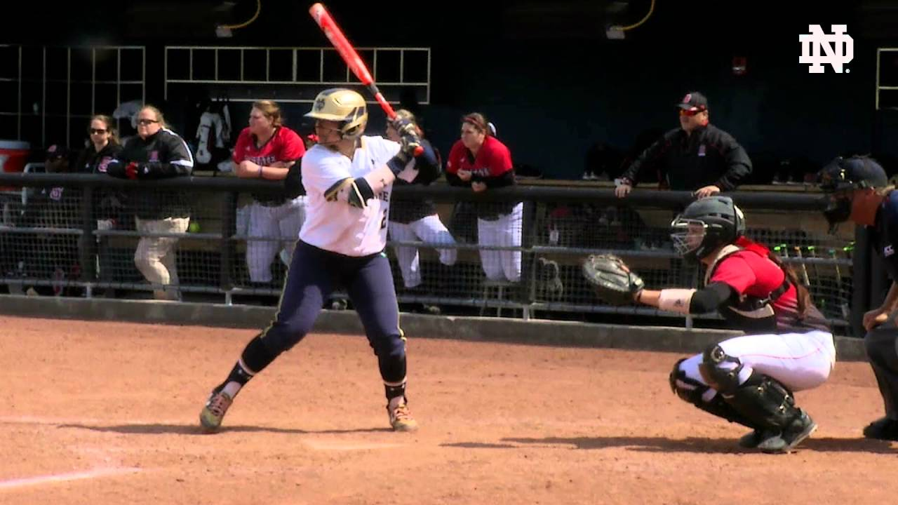 Notre Dame vs. NC State Softball Highlights