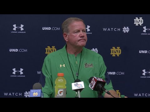 Brian Kelly Press Conference Aug 11th