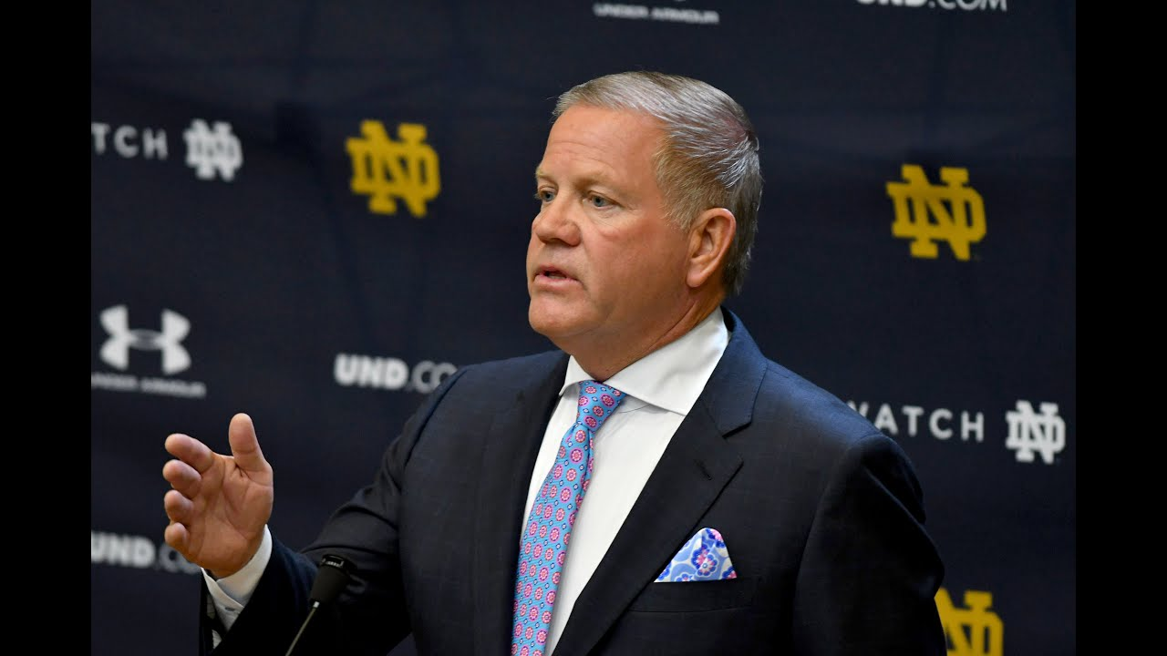 Brian Kelly Press Conference Aug 5th