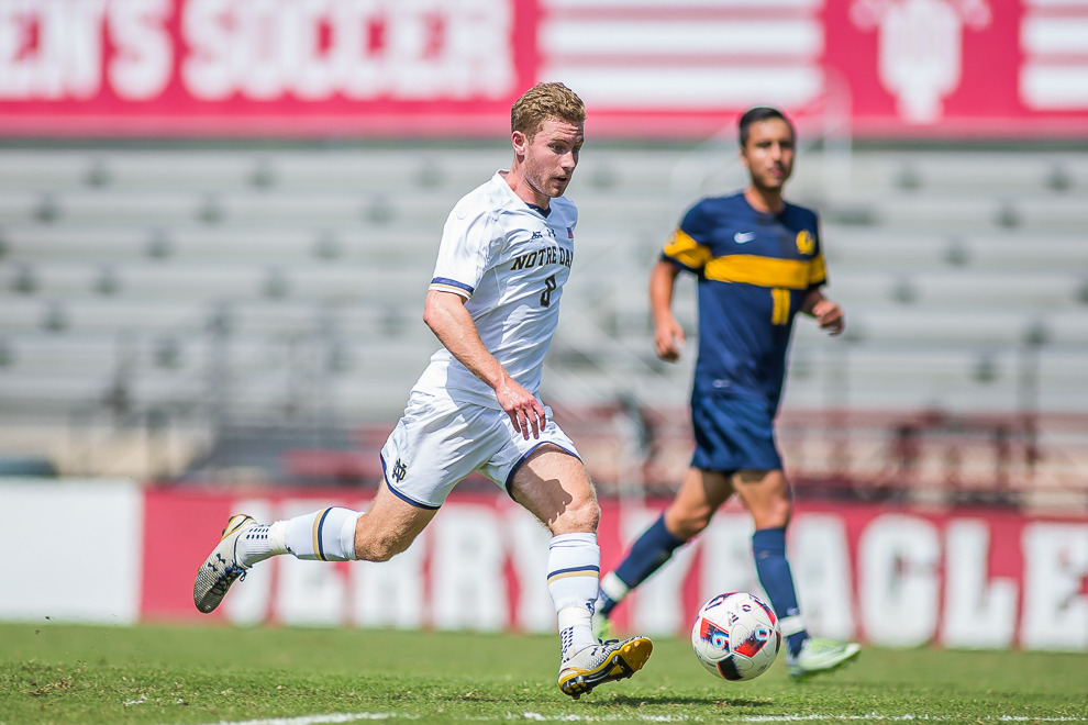 Jon Gallagher was named the ACC Offensive Player and College Soccer News National Player of the Week on Sept. 6