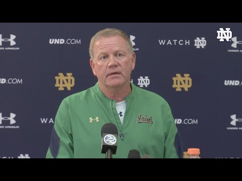 Brian Kelly Press Conference Sept 1st
