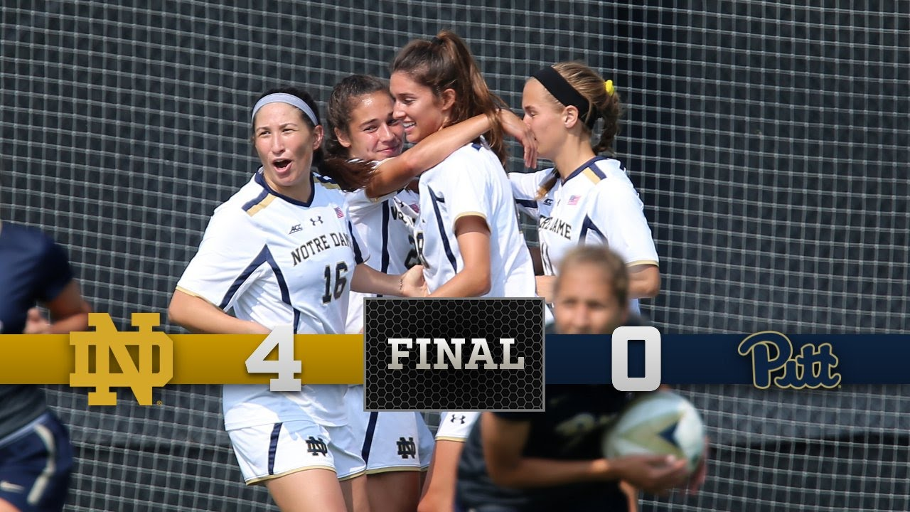 Top Moments - Notre Dame Women's Soccer vs. Pittsburgh