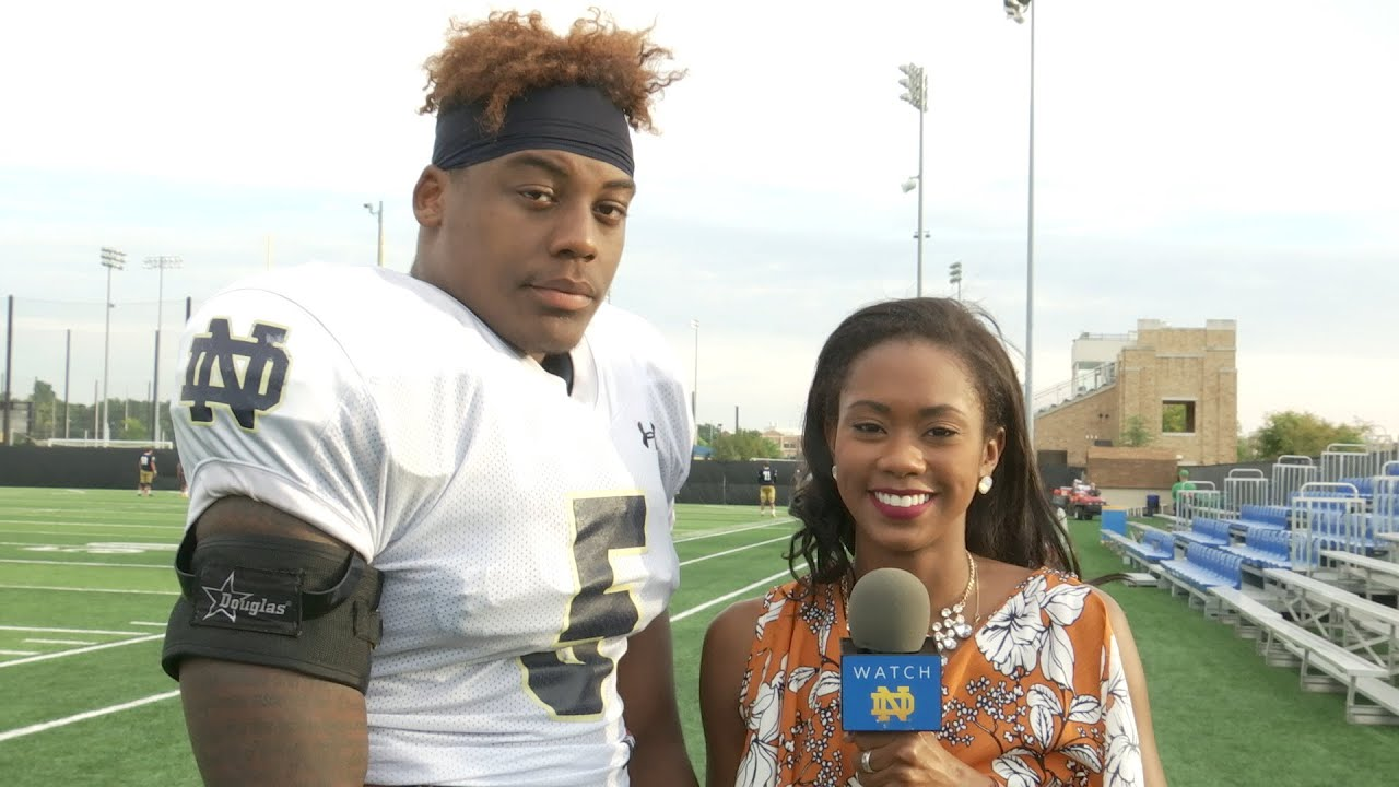 On the Field with Nyles Morgan - Duke Week