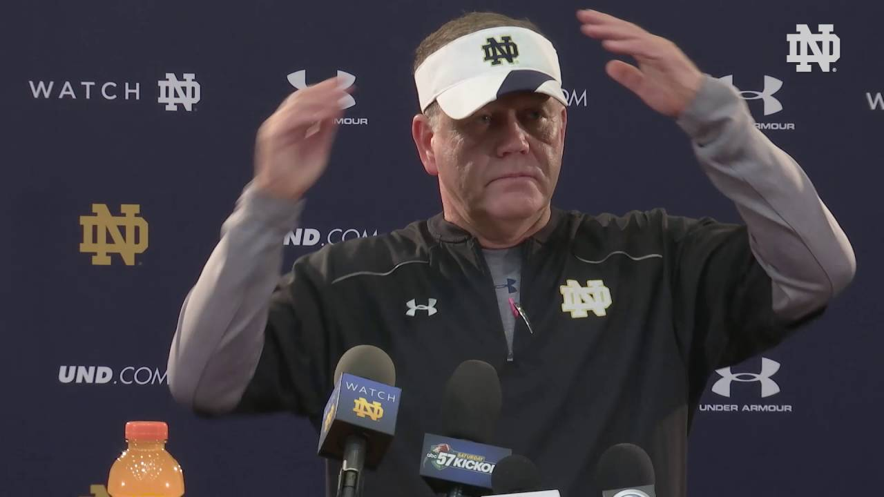 Brian Kelly Press Conference Sept 29