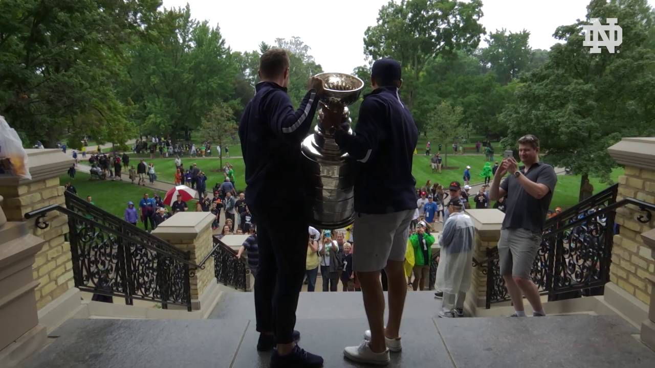 The Stanley Cup's Campus Tour