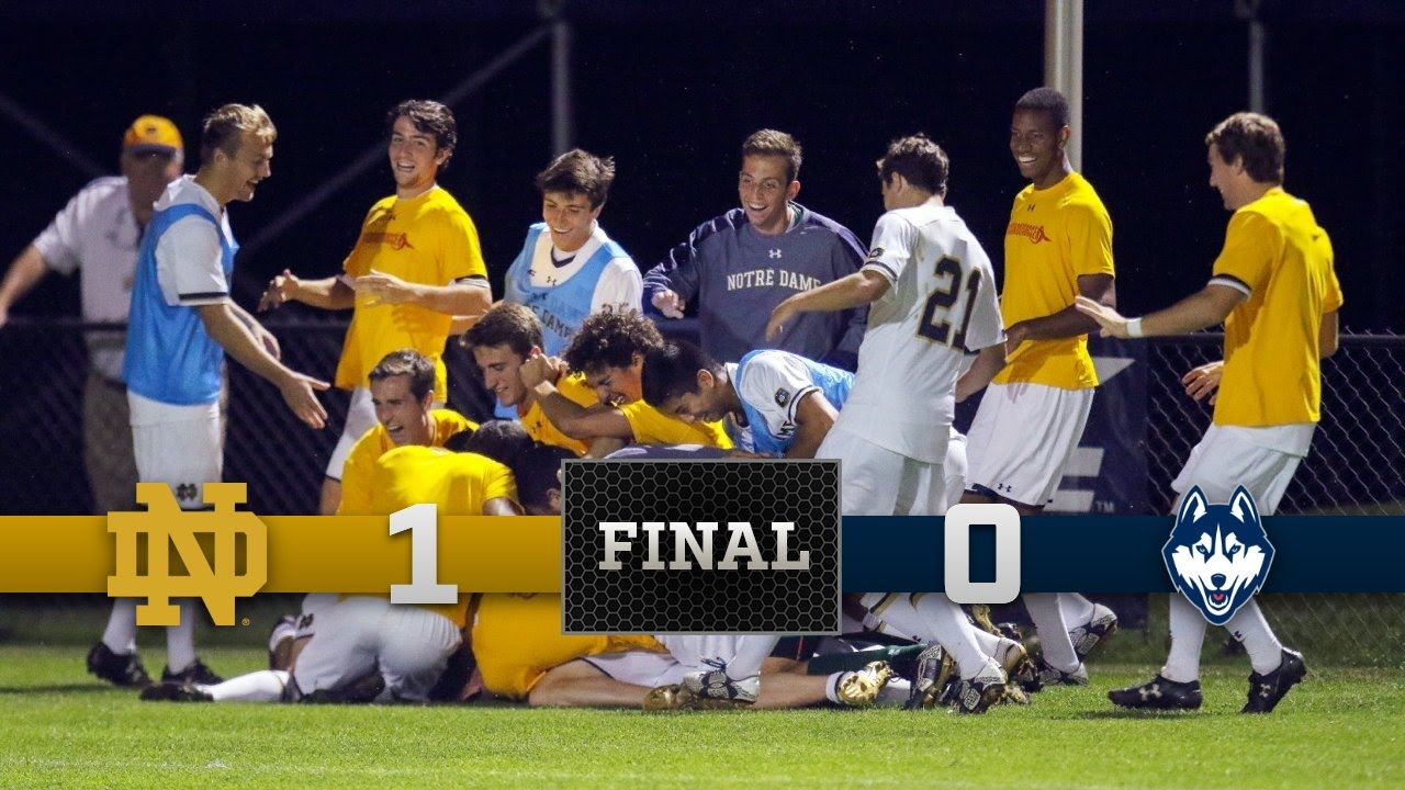 Top Moments: Notre Dame Men's Soccer against UConn