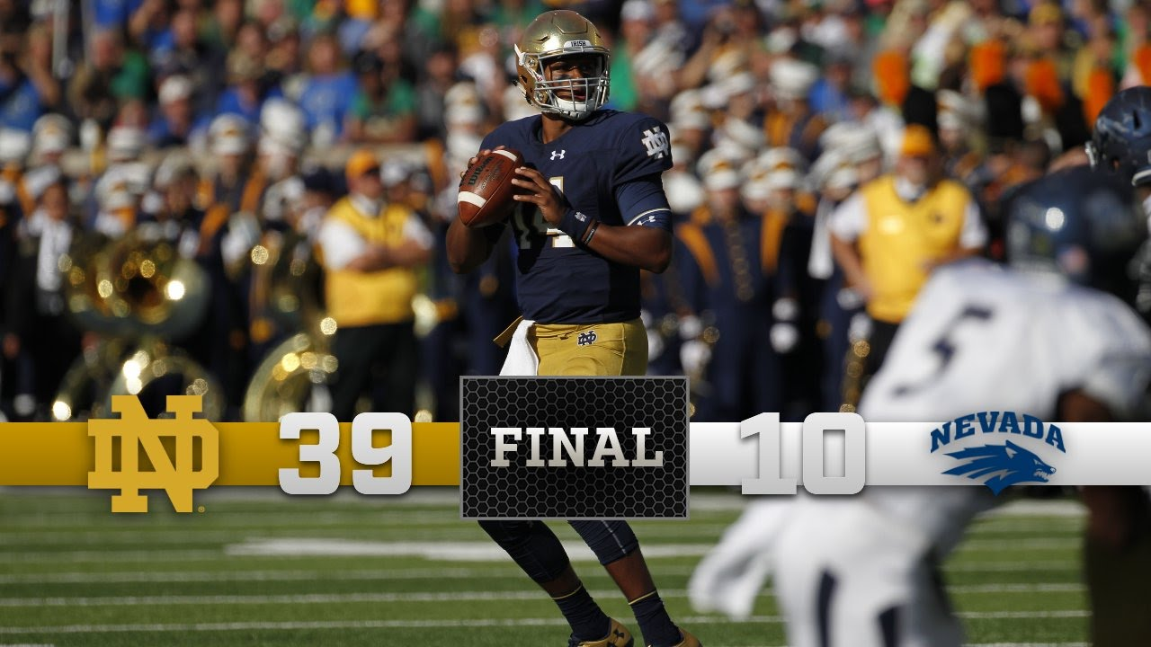 Notre Dame Nevada Football Highlights
