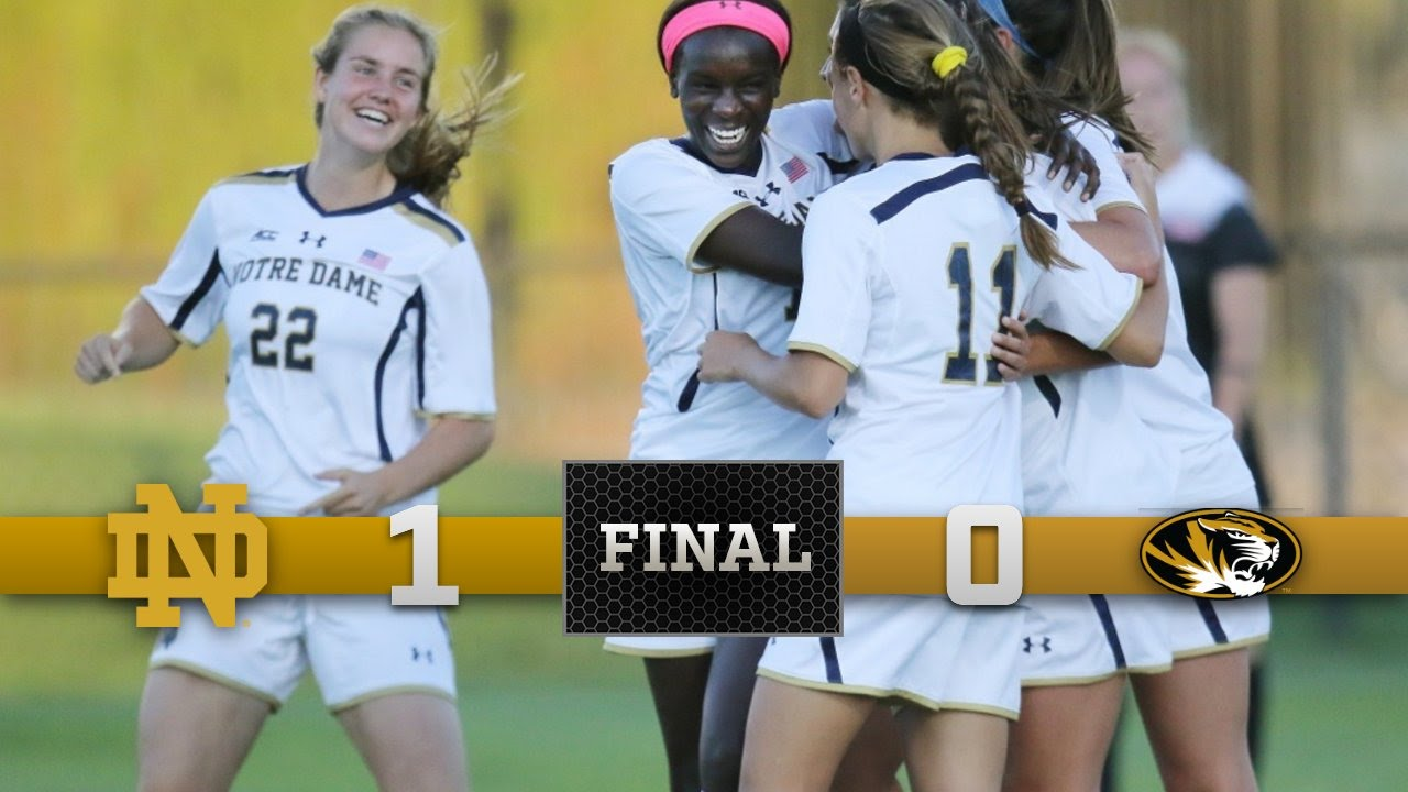 Top Moments: Notre Dame Women's Soccer vs. Missouri