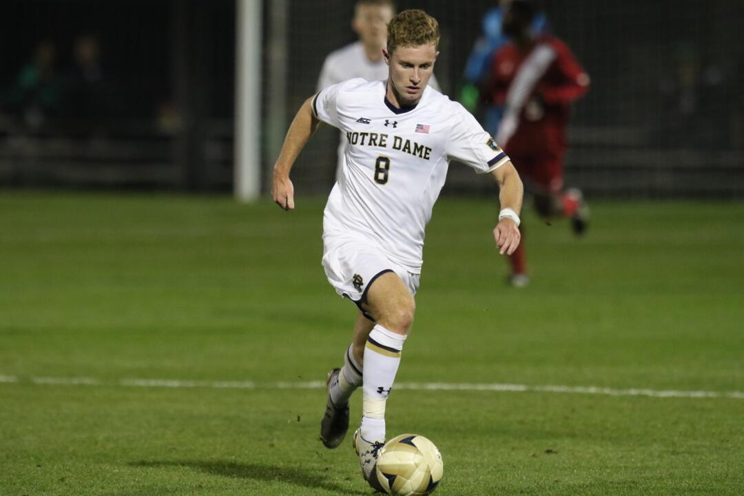 Jon Gallagher finished with a match-high six shots (four on goal) Friday night at Virginia